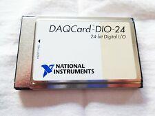 Ni Pcmcia Daqcard Dio 24 24 Bit Digital Io Works Great