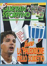 GUERIN SPORTIVO-1992 n.47- BAGGIO-BIANCHI-SPINELLI-CAMPANA -NO FILM-NO POSTER