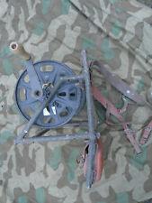 Feldkabel-Abspulgerät Feldtelefon Rückentragegestell Kabelspulgerät Wehrmacht WH