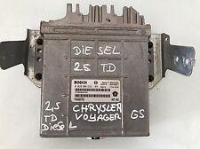 CHRYSLER VOYAGER Motorsteuergerät Von 2.5 TD GS P04686758 Bosch Bj.1996