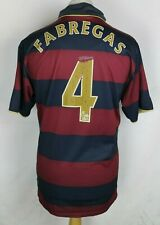 4f509edf247 FABREGAS  4 VINTAGE ARSENAL THIRD FOOTBALL SHIRT NIKE 07-08 MENS LARGE RARE