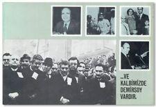 [TÜRK-IS] ...VE KALBIMIZDE DEMIRSOY VARDIR 1st ed 1976 Turkish Trade Union hist.
