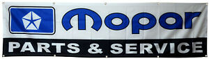 Mopar Flag Parts Dodge Chrysler Plymouth 2X8ft Banner US Shipper