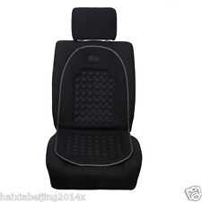 1x Black Car Seat Cushion Mat Therapy Massage Padded Bubble Foam Chair Pad Cover