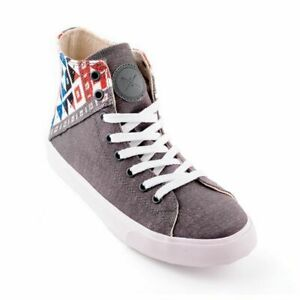 Inkkas Dolomite - Vegan High Top Sneakers Ethical Comfy Durable