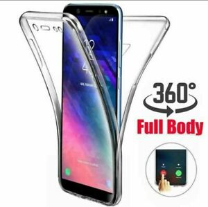 360° Silicon Front and Back Clear Gel Case For Samsung Galaxy S20 S20 Plus A12
