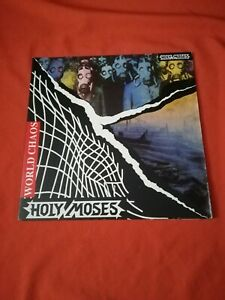 HOLY MOSES - World Chaos - Gatefold Vinyl - 1990