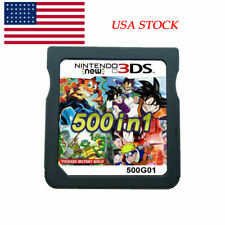 500 in 1 Video Game Card Cartridge Multicart For Nintendo 3DS TOPS NDS NDSL