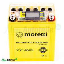 Motorrad Batterie YTX7L-BS absolut wartungsfrei u. sofort Einsatzbereit i-GEL