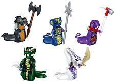 Ninjago Snake Serpentine Choprai Skales Acidicus Pythor Custom Lego Mini Figure