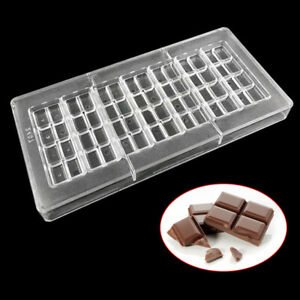 Chocolate Bar Mold Baking Confectionery Tools For Cake Decoration Pastry Mould