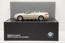 BMW Série 6 CABRIOLET MINICHAMPS 1/43 NEUVE EN BOITE PROMOTIONNELLE BMW