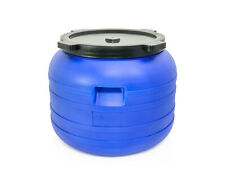 Plastic barrel 100L with LID HDPE Water Storage Container Drum Keg Food Grade