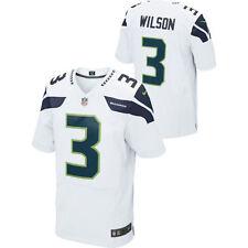 NFL Men's Jersey Seattle Seahawks Russell Wilson Football Large Ltd Away White