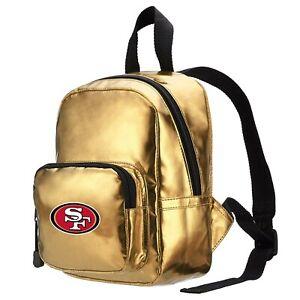 "NFL San Francisco 49ers Spotlight Mini-Backpack, 10"" x 3.25"" x 7"""
