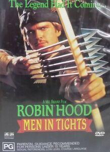 Robin Hood Men in tights DVD Comedy Spoof Movie - REGION 4 AUSTRALIA - FREE POST