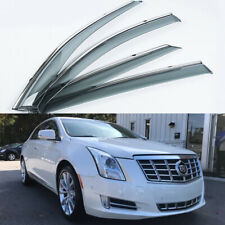 For Cadillac XTS 2013-2019 Window Visors Side Sun Rain Guard Vent Deflectors 4PC