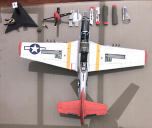 Airfix 1/24 North American Mustang (P-51 Made  spares or repair)