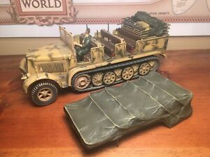 Forces Of Valor Unimax 1:32 German Hanomag Halftrack Sd. Kfz. 7 Normandy #80247