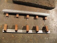 """1/18 scale - Guard Rails for YOUR SHOP/GARAGE/DIORAMA - Set of 2 x 12 inches=24"""""""
