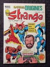 1980's Marvel Special Origines STRANGE French Comic #139 FN+ 6.5 Fantastic Four