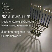 Jonathan Aasgaard - From Jewish Life - Music for Cello and Orchestra [CD]