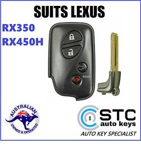 SUITS LEXUS RX350 RX450H COMPLETE SMART PROXIMITY REMOTE KEY LESS 2010 - 2015