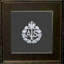 Auxiliary Territorial Service Cap Badge Cross Stitch Kit