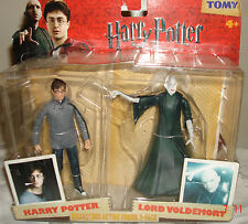 HARRY POTTER DEATHLY HALLOWS LORD VOLDEMORT COLLECTORS ACTION FIGURE 2- PACK