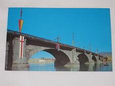 Vintage London Bridge, Lake Havasu City Arizona Postcard Over the Colorado River