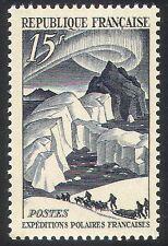 FRANCIA 1949 Polare/Aurora/CANI/SLITTE/trasporto 1 V n31733