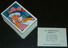 AGEDUCATIFS PANINI LES ARISTOCHATS 1971 SET 182 IMAGES RECUPERATION