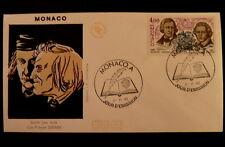 MONACO PREMIER JOUR FDC YVERT  1502       LES FRERES GRIMM      4F       1985