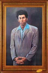The Kramer Portrait Seinfeld Faux Frame TV Poster 24x36 inch