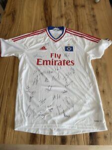 Hamburger SV HSV Trikot Original Unterschriften