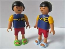 Playmobil 2 Asian/ethnic children - Twin boys NEW dollshouse/school figures