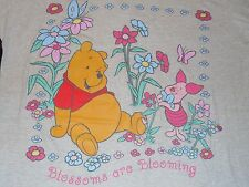 """Disney Winnie The Pooh Piglet Blossoms are Blooming T-Shirt Adult One sz 34-1/2"""""""