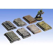 Armorcast Undead Empire Sigmarite ACGV005 Graveyard Slabs (7 pcs) Frostgrave
