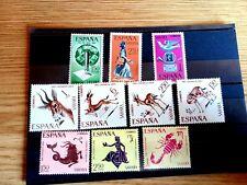 Lote 8. 10 sellos de SAHARA nuevos sin charnela goma original ¡¡¡OCASION!!!