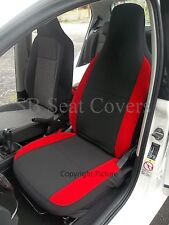 Adapté à Suzuki Grand Vitara, HOUSSES de Siège Auto, Anthracite + Rouge Supports
