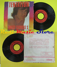 LP 45 7'' RINGO FORMULE 1 Tentation france carrere 49 057 no cd mc dvd