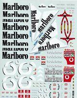 Carpena decals for cars 1/18 - Marlboro  (Ref 11828)