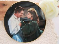 Gone With the Wind Plate Scarlett Asks A Favor Scarlett and Rhett