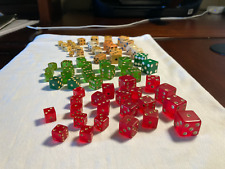 Vintage mis spotted gaffed Dice Collection