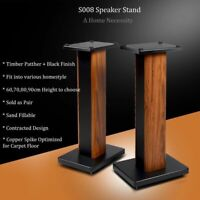 Home Theatre/Bookshelf/Hi Fi Speaker Stands 60CM-90CM Height S008 US