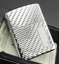 Zippo Lighter ENGINE TURN PEBBLE (Armor Case) 2002491