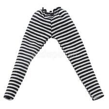 Black/White Stripe Tights Leggings Pants Clothes for Doll Takara Neo Blythe