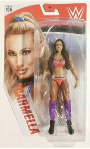 Carmella WWE Series 106 Basic Figure - Brown Hair Chase Variant - Purple Orange