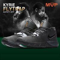 Nike Kyrie Flytrap Basketball Trainers Black Gold Boots B GRADE UK 8.5 EU 43