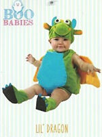 NWT Boo Babies Halloween Costume Lil Dragon Sz 0-9 Months - 3 Pieces